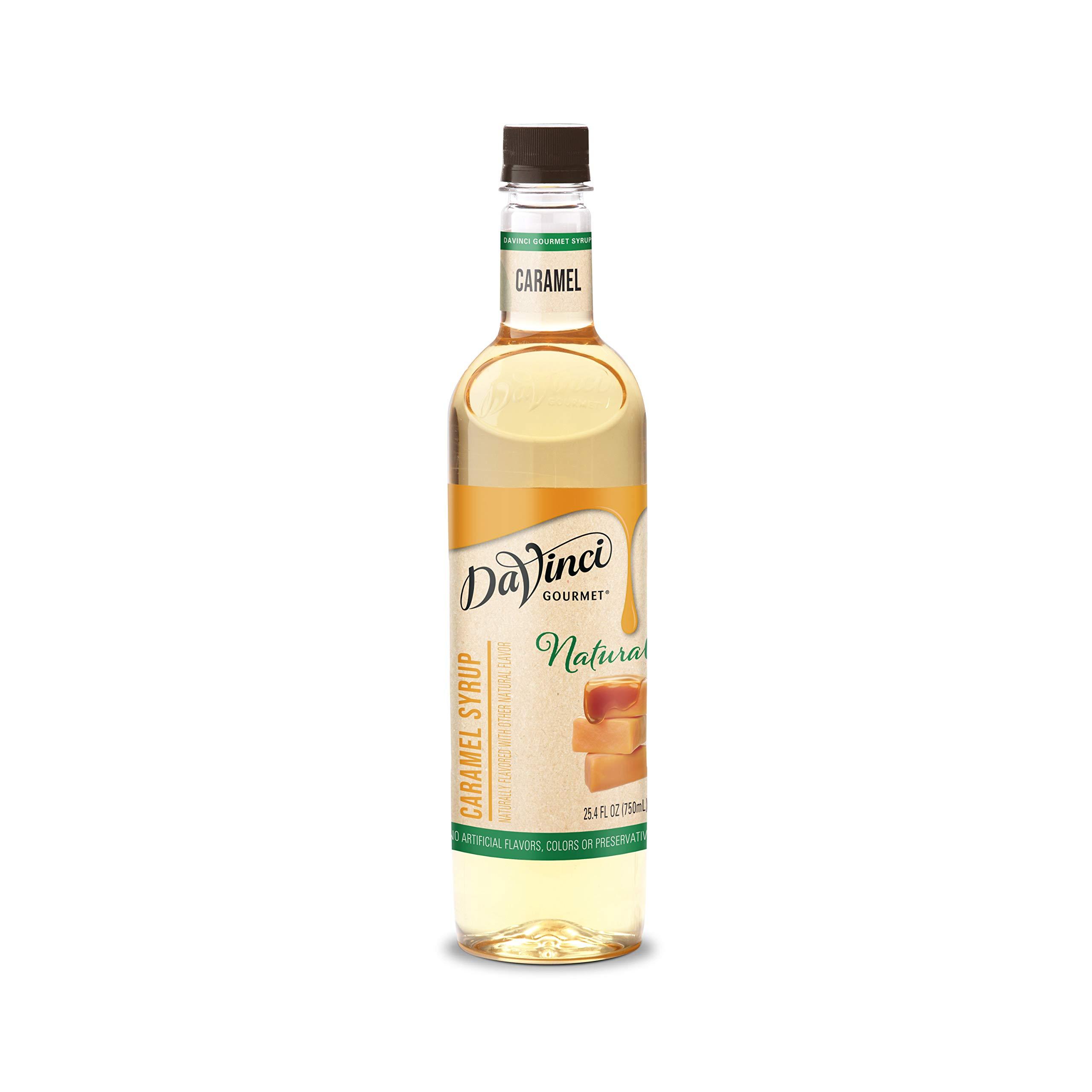 DaVinci Gourmet Naturals Caramel Syrup, 25.4 Ounce…