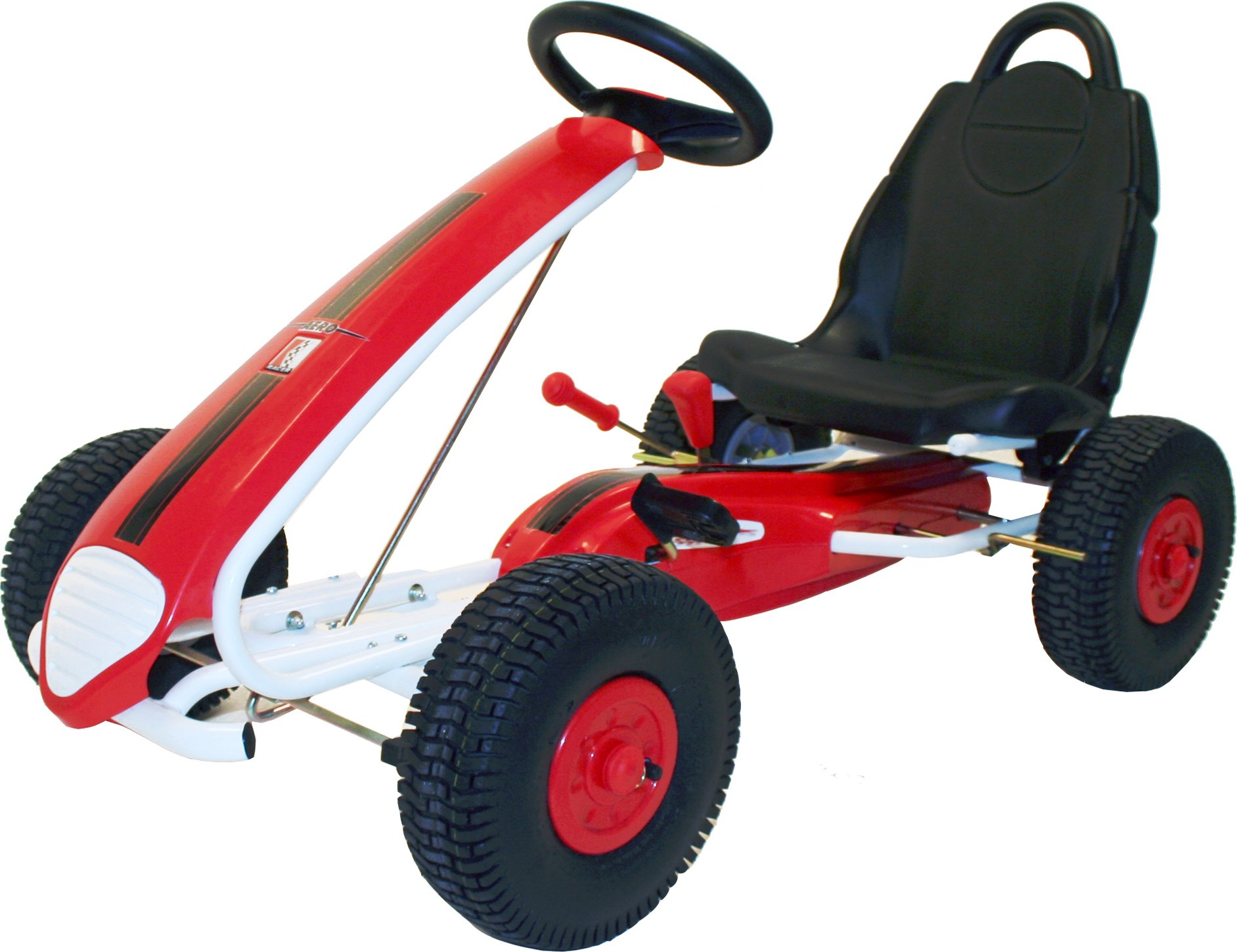 Kiddi-o by Kettler Aero Racer Pedal Car/Go Kart, Youth Ages 5+