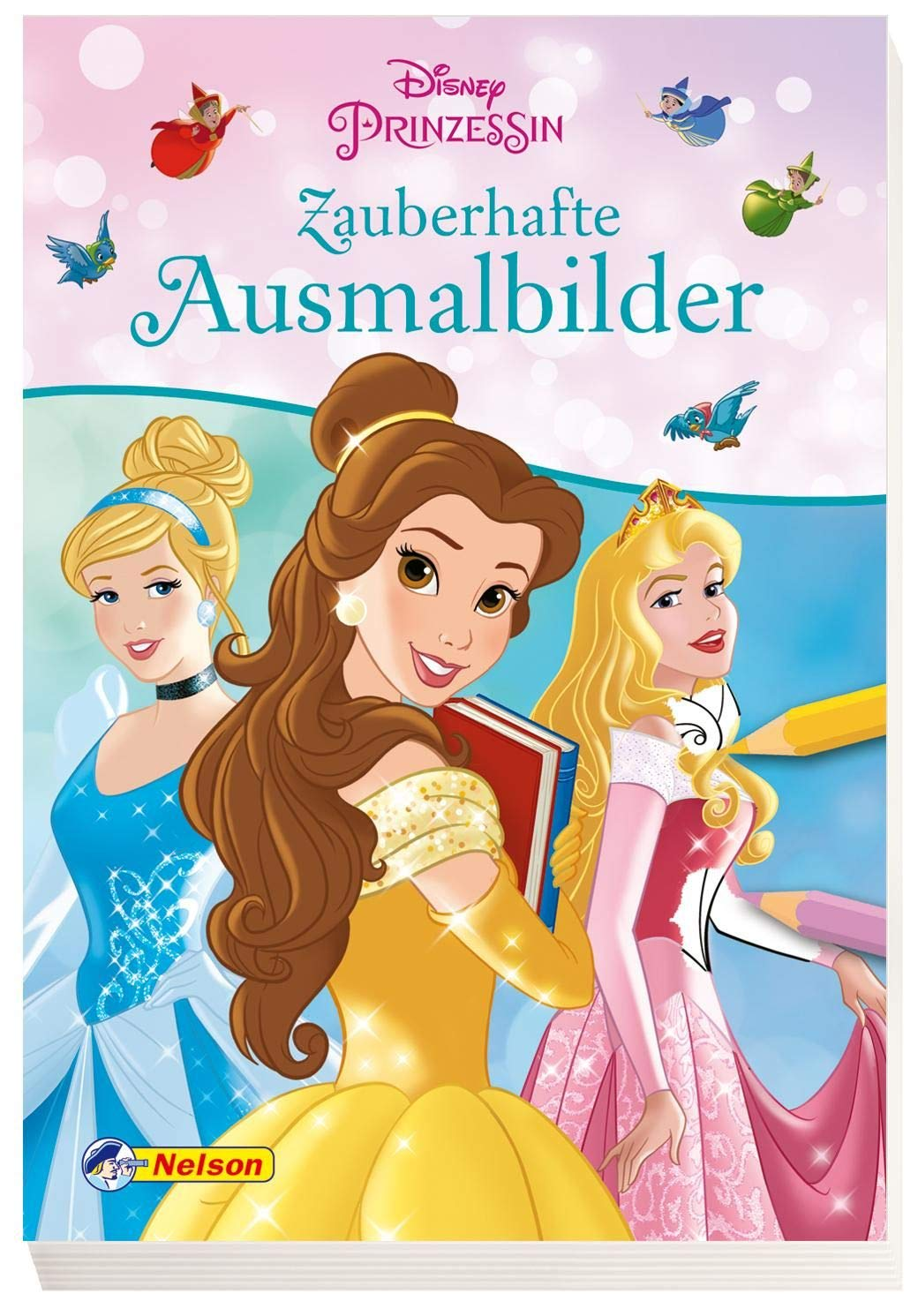 Disney Prinzessin Zauberhafte Ausmalbilder Amazon De Bucher