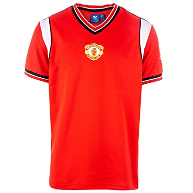 a7050c30cba adidas Originals Mens Manchester United 85 Home Jersey in Red  adidas  Originals  Amazon.co.uk  Clothing