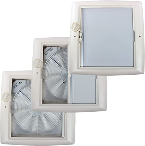 Thule® Manivela claraboya Omni de Vent Transparente 40 x 40 12 V ...