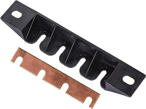 4 Gangs E5 Stud Type Breaker Copper Busbar with Slots