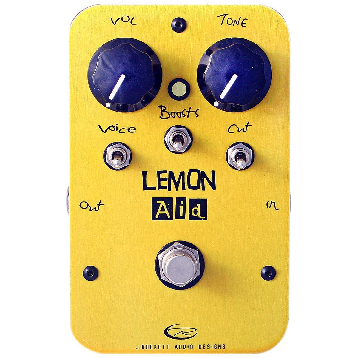 Amazon.com: Rockett Pedals Lemon Aid Multi Boost Guitar Effects ...