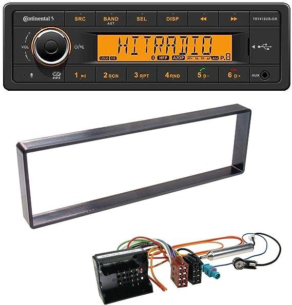 Continental MP3 USB Bluetooth AUX Radio de Coche para Citroen ...