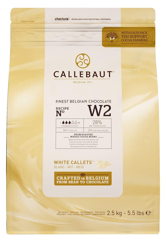 Callebaut Milk Chocolate Shavings 2.5 Kg: Amazon.co.uk: Grocery