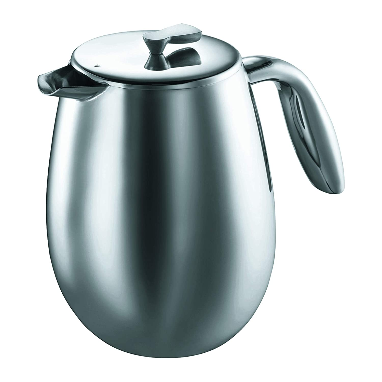 Bodum Columbia 12-Ounce Stainless-Steel Thermal Coffee Press Pot