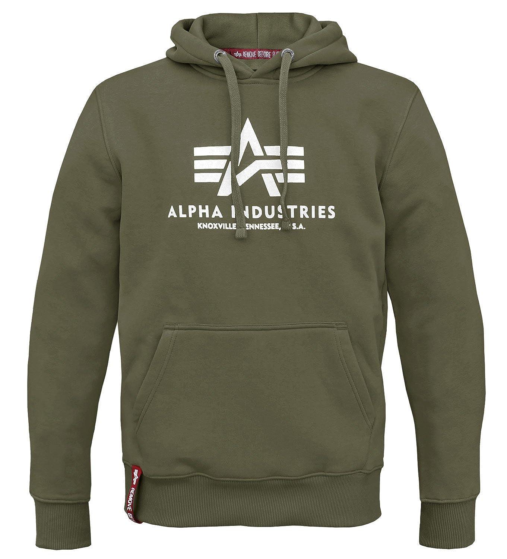 Alpha Ind. Basic Hoody Sweater Kapuzen Pullover