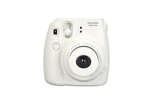 769 opinioni per Fujifilm Instax Mini 8 Fotocamera Istantanea per Foto Formato 62x46 mm, Bianco