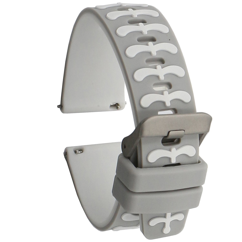 Elespoto Silicone 22MM classic Watch Strap for Samsung ...