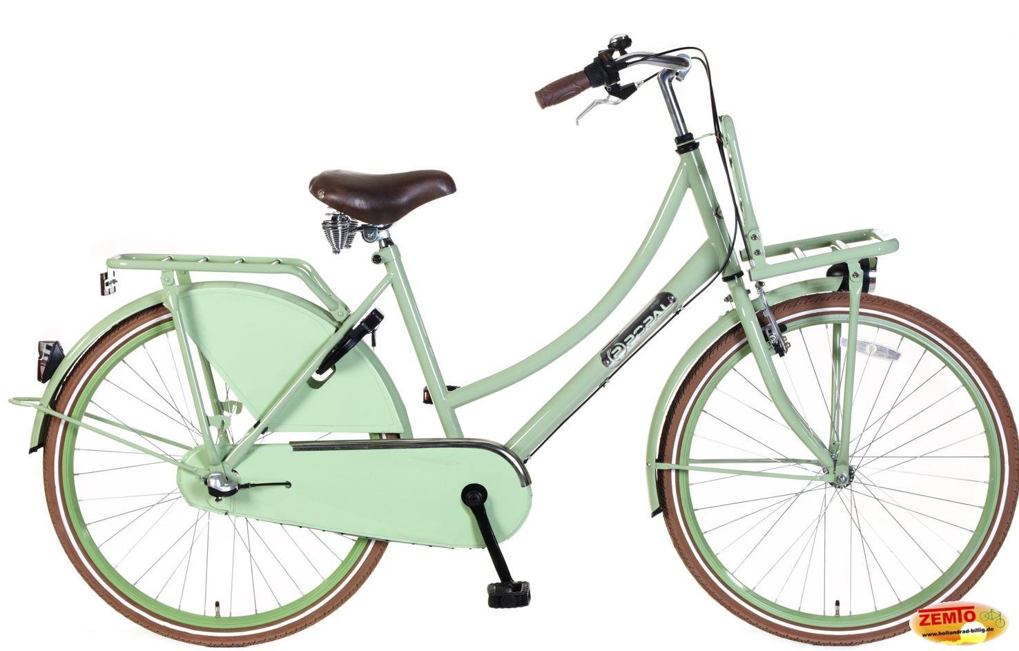 Bicicleta holandesa para mujer 26 pulgadas Plezier DDB pistacho 3 ...