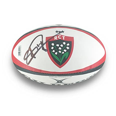 Pelota de Rugby de Toulon Firmado por Jonny Wilkinson: Amazon.es ...