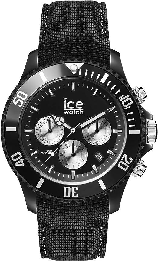 Montre ICE WATCH ICE DUNE en Silicone Noir Montre Homme