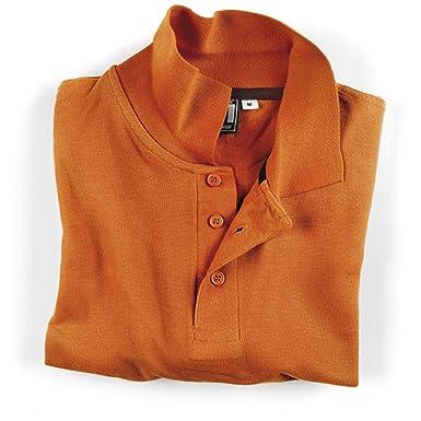 Socim - Polo - para Hombre Naranja Arancio 46 ES/L: Amazon.es ...