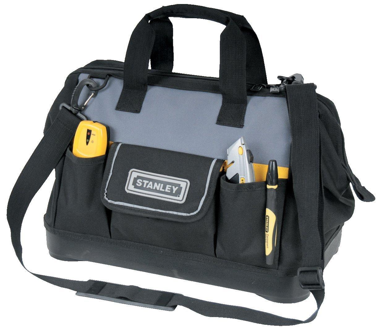 STANLEY 1-96-183 - Bolsa para herramientas de gran abertura con cremallera,