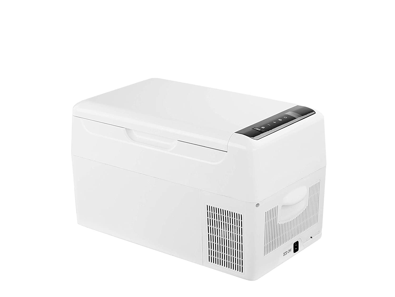 Alpicool C22 Portable Refrigerator 23 Quart(22 Liter) Vehicle, Car, Truck, RV, Boat, Mini Fridge Freezer for Driving, Travel, Fishing, Outdoor and Home use -12/24V DC and 110-240 AC with USB stocket
