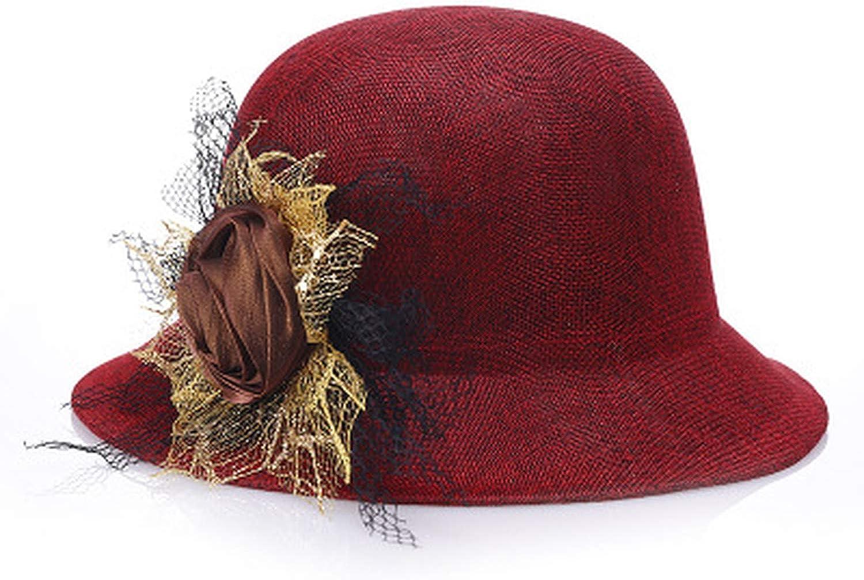 Women Lady Fedoras Top Hat...