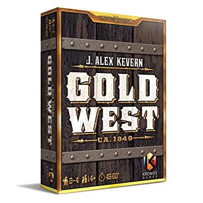 Gold West Board Game: Toys & Games