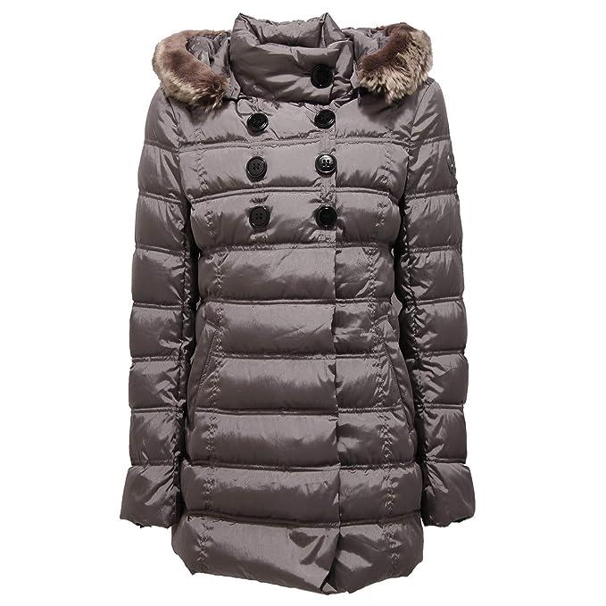 pretty nice 0c829 fd56c kejo 6264X Piumino Bimba Girl Soul Giacca Grey ecofur Jacket ...