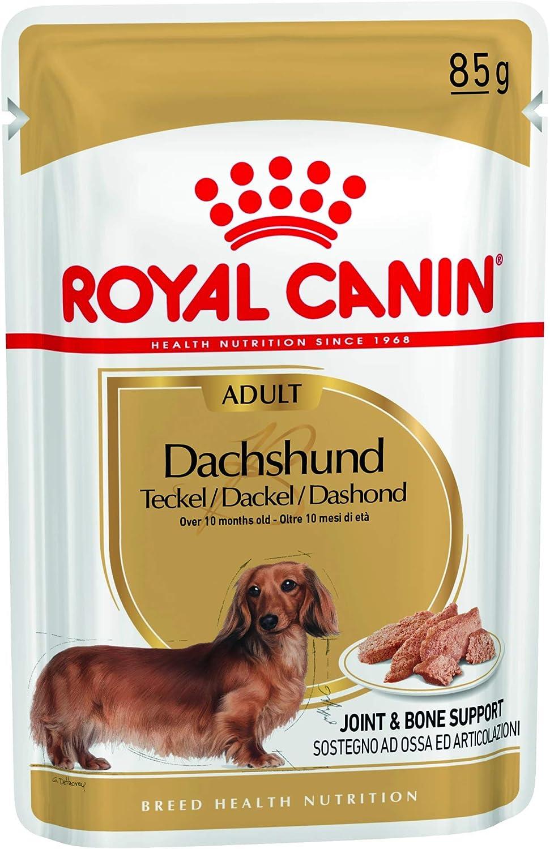 ROYAL CANIN Adult Bassotto Comida para Perros - Paquete de 12 x 85 gr - Total: 1020 gr