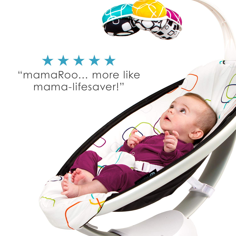 4moms® mamaRoo 4.0 Rocker//Bouncer Classic Black