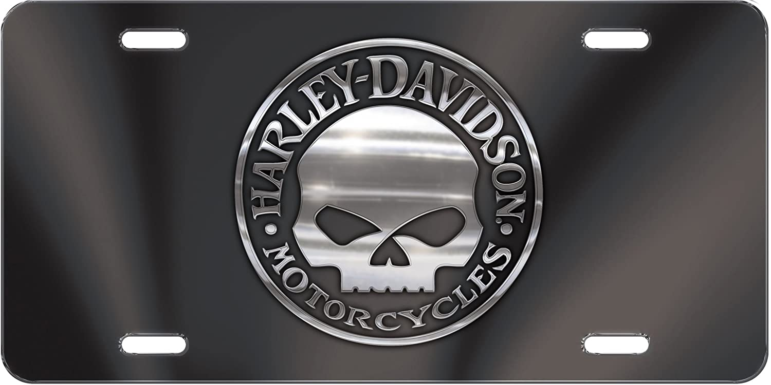 Amazon com chroma 2026 harley davidson license plate automotive