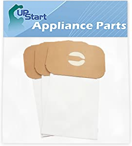 Upstart Battery 3 Replacement for Aerus/Electrolux Lux 5500 Style C Vacuum Bags - Compatible with Aerus/Electrolux Canister Tank Type C Vacuum Bags