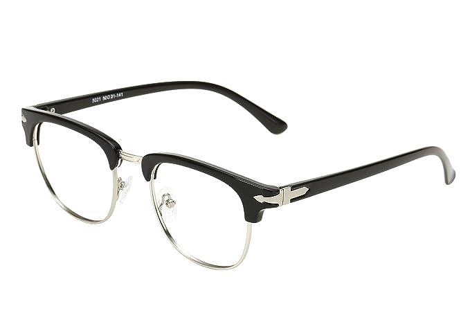 e92990aa23 Embryform TR90 Vintage inspirado clš¢sico medio marco claro lentes gafas