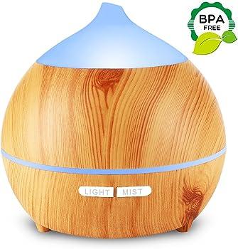 Mulcolor Wood Grain Essential Oil Diffuser