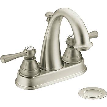Moen T6125bn Kingsley Two Handle High Arc Bathroom Faucet