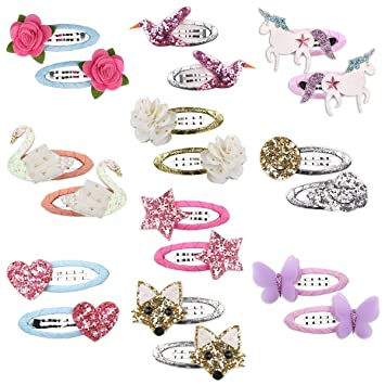 Candy Color Snap Hair Clip Hairpin Barrette Accessories For Baby Girls Children