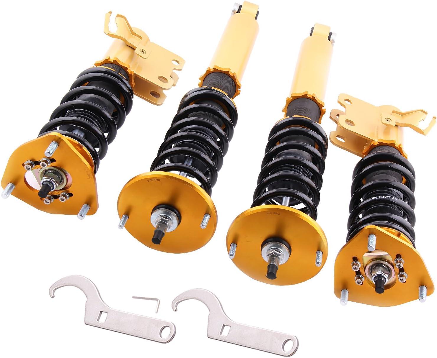 Coilovers Strut for Nissan S14 Silva 94-98 240SX 95-98 Suspension Coil Spring Strut Shock with Adjustable Damper