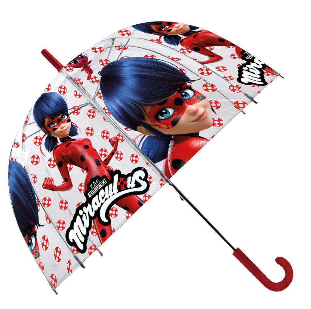Ladybug Parapluie Transparente Cloche Disney 19 LB17042