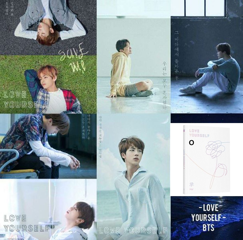 CD : BTS - Love Yourself: Her [ VERSION O ]