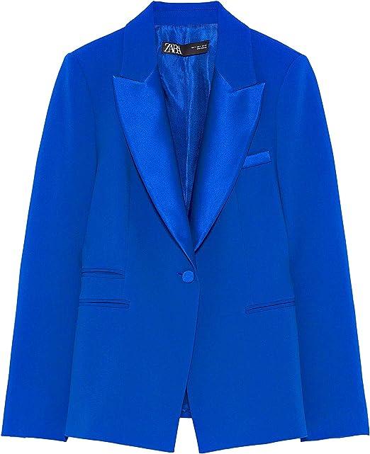 Zara 7834/783/420 - Zapatillas de Senderismo para Mujer Azul ...