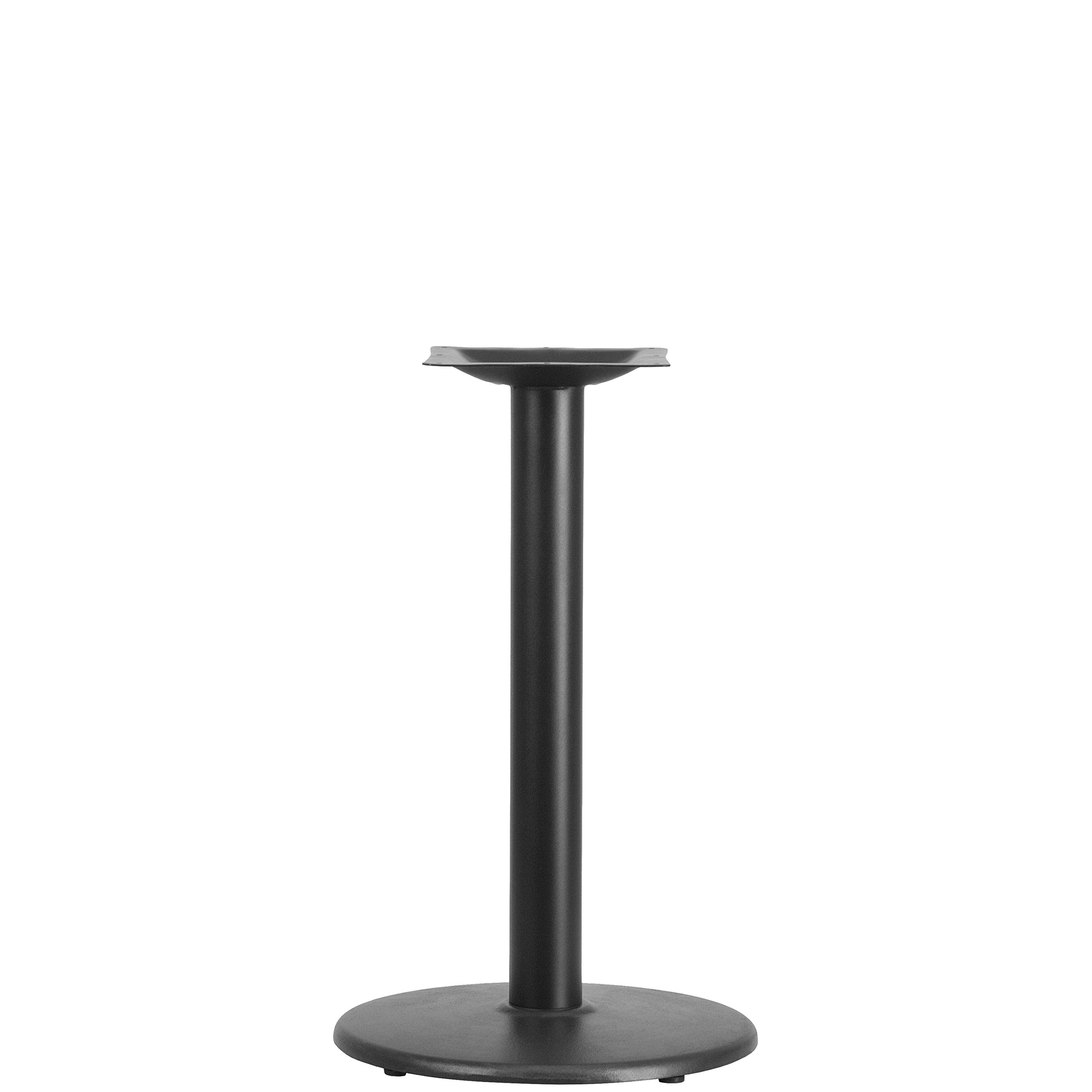 Flash Furniture 18'' Round Restaurant Table Base with 3'' Dia. Table Height Column