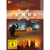 Terra X - Edition Vol. 8 Mammuts - Stars der Eiszeit / Klima macht Geschichte / Die Apokalypse der Neandertaler / Sternstunden der Evolution / Die ersten Menschen [3 DVDs]