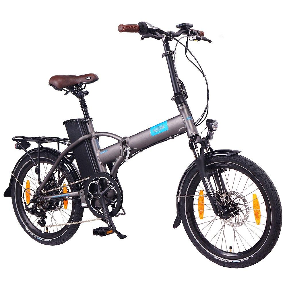 NCM Londres 20 pulgadas E-Bike, E de bicicleta plegable, EEC-36 V 15 Ah 540 WH Batería, 250 W bafang Motor trasero, frenos de disco mecánico, Paris, ...