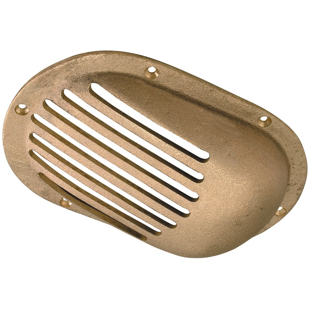Perko 3-1/2'' x 2-1/2'' Scoop Strainer Bronze MADE IN THE USA