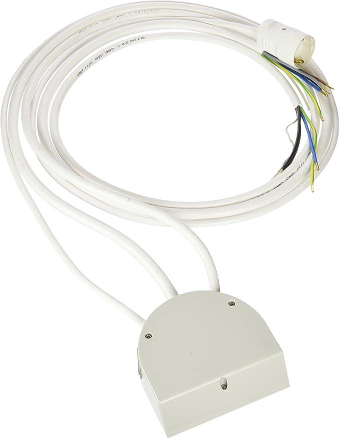 Kopp Herdanschlussleitung H 05 VV-F 5G 2 5-adrig weiß 5m Strom Herd Ofen NEU