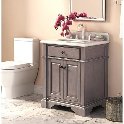 . Lanza Casanova WF6956 28 28 in  Single Bathroom Vanity Set