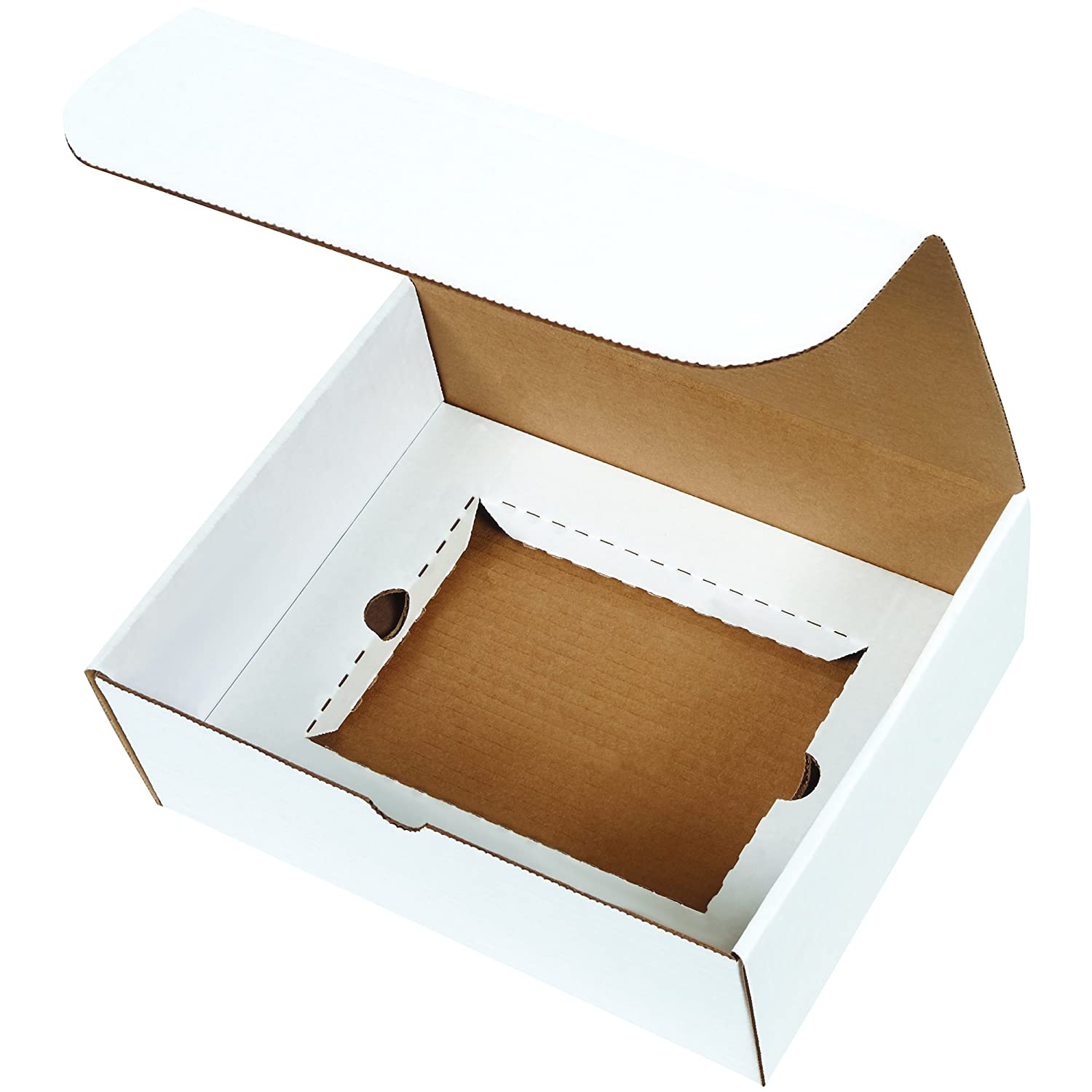 15 1//8 x 11 1//8 x 4 Inches Die-Cut Shipping Boxes Boxes Fast BFMIBMS1000K Corrugated Cardboard Literature Mailers Tuck Top One-Piece Large Brown Kraft Mailing Boxes Pack of 50