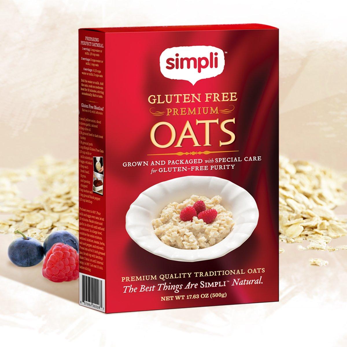 Simpli sin gluten Premium Avena: Amazon.com: Grocery ...