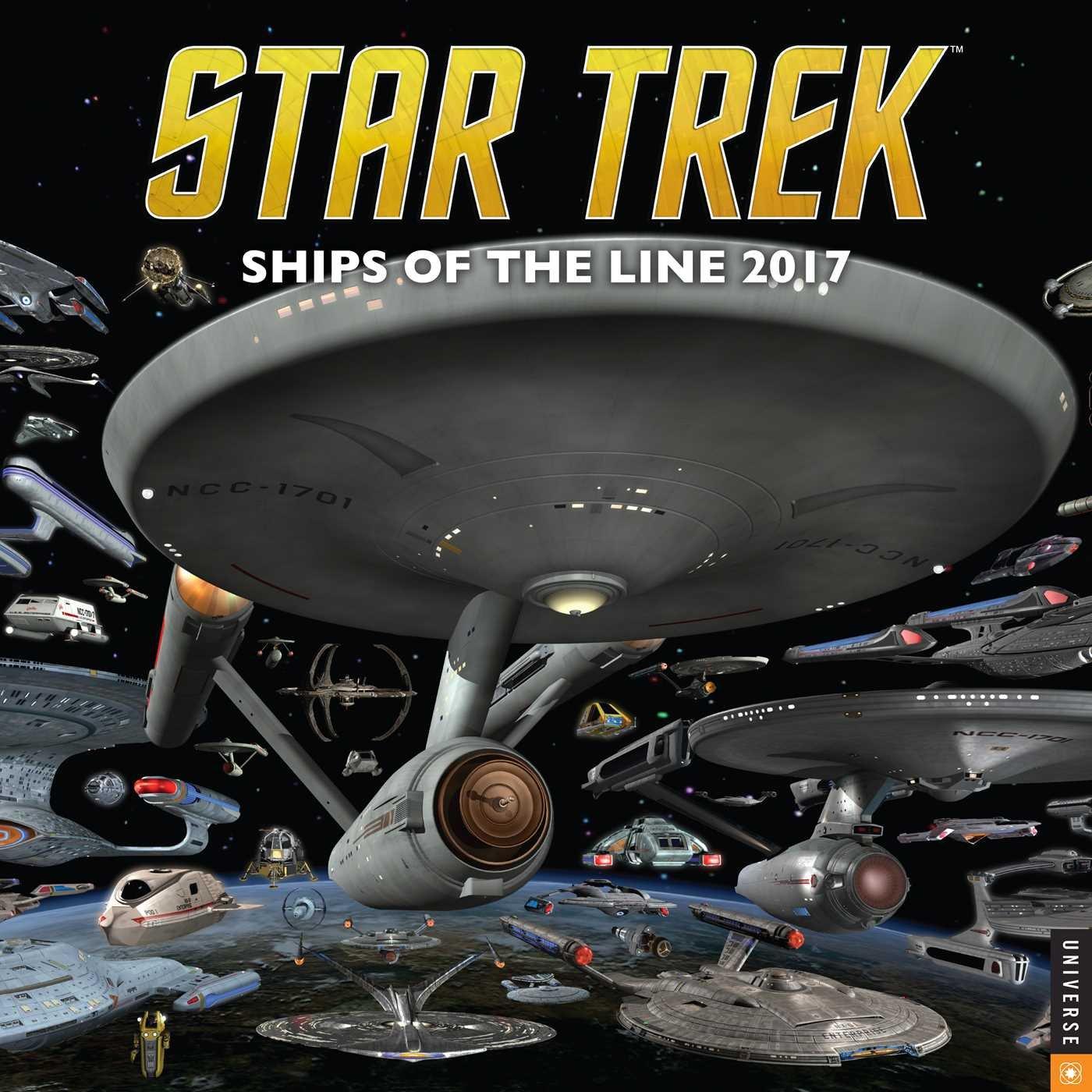 Star Trek 2017 Wall Calendar: Ships of the Line PDF