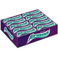 Wrigley's Airwaves Chicles Cool Cassis, 30 Paquetes de 10 Chicles
