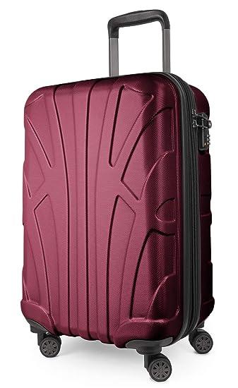 78dfccc2ed435 Suitline Handgepäck Bordgepäck Koffer mit Laptoptasche und Erweiterung