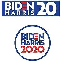 """Craftabl Biden Harris 2020 Bumper Sticker + Biden Harris 2020 Vinyl Decal Bumper Sticker Wall Laptop Window Sticker 5"""""""