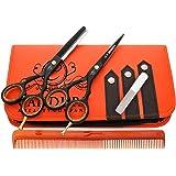 """Ciseaux de coiffure - Barber Salon de coupe de cheveux - 5.5""""  - Pour Effiler et désépaissir"""