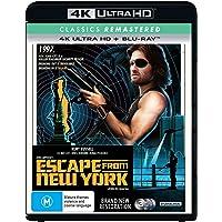 Escape From New York (1981) (John Carpenter's) (Classics Remastered) (4K UHD/Blu-ray)