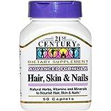 21st Century Hair Skin Nails Caplets 50s