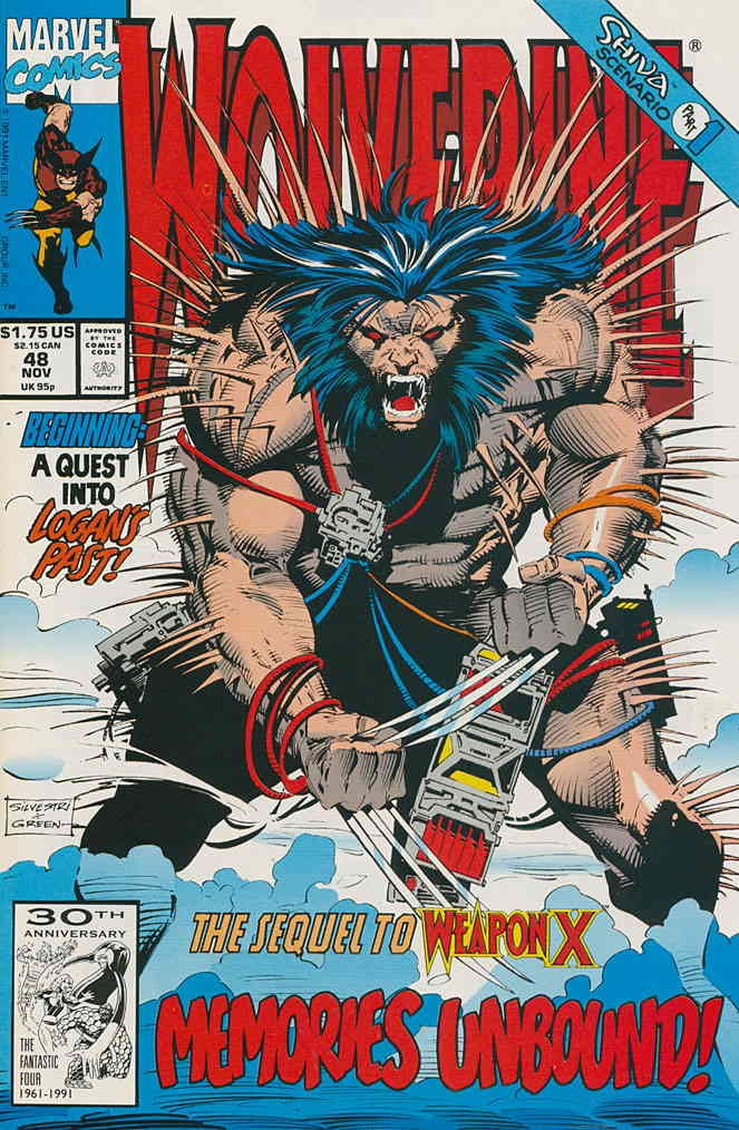 Wolverine #48 VF/NM ; Marvel comic book